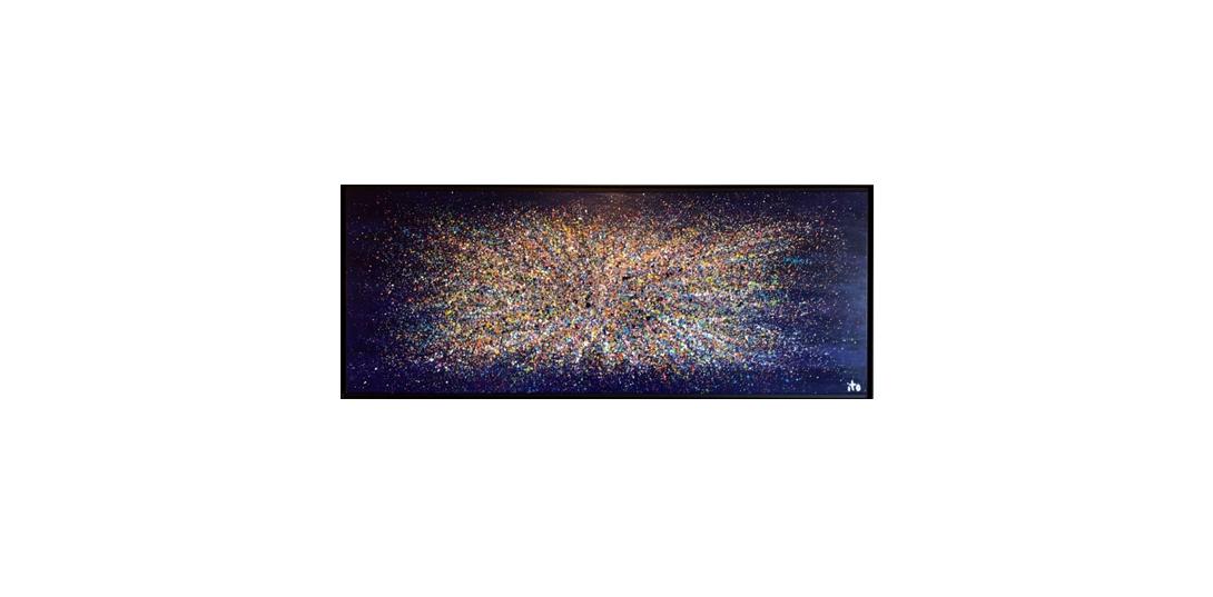 Blue cosmos 250 x 100